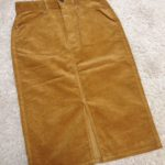 GU購入品☆コーデュロイタイトスカート